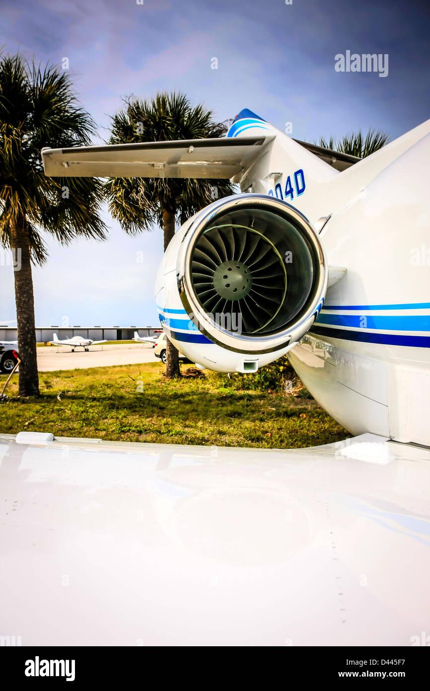 Hawker Beechcraft 900XP business jet aircraft - Stock Image