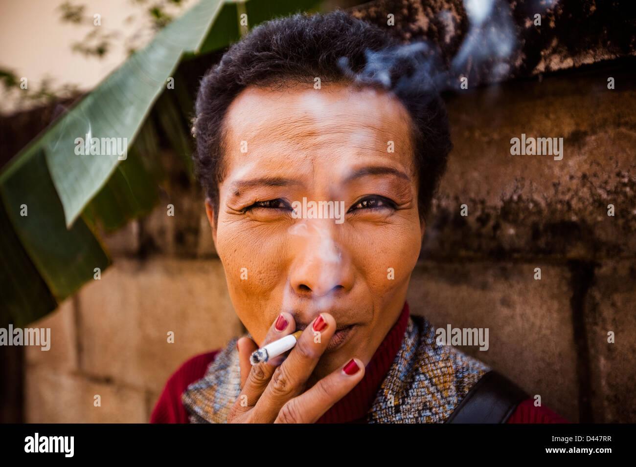 A portrait of a ladyboy in Phrae, Thailand Stock Photo: 54183691 - Alamy
