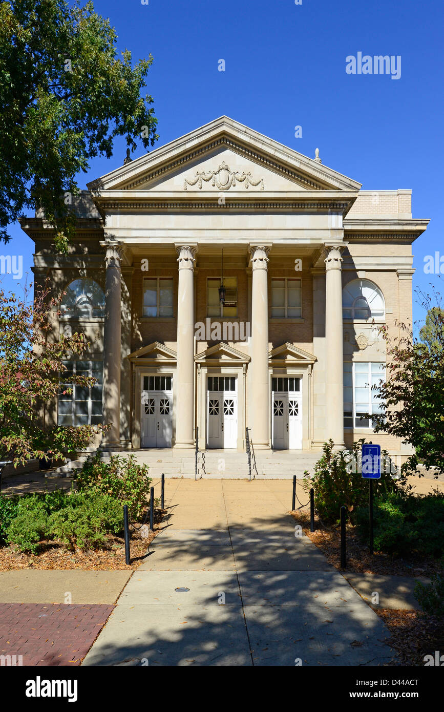 Fulton Chapel Ole Miss Campus University Oxford Mississippi MS - Stock Image
