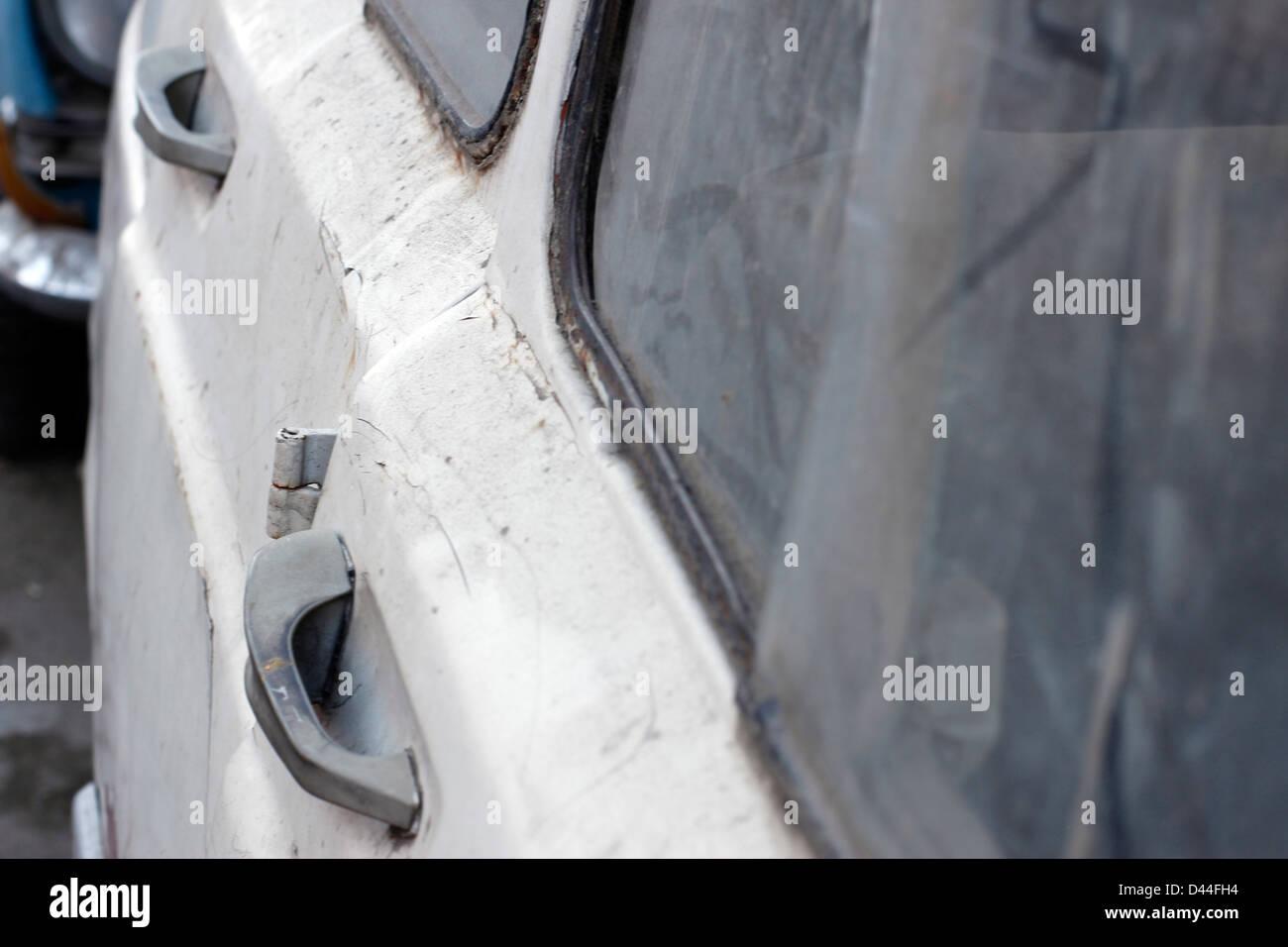 Broke down car - Stock Image