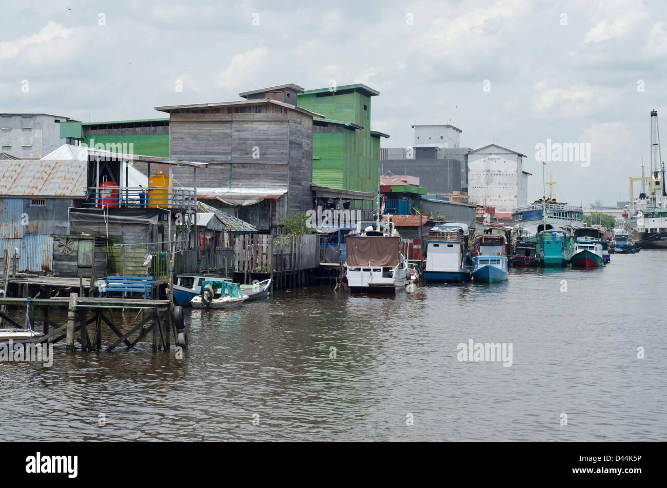 Kumai, Central Kalimantan - Stock Image