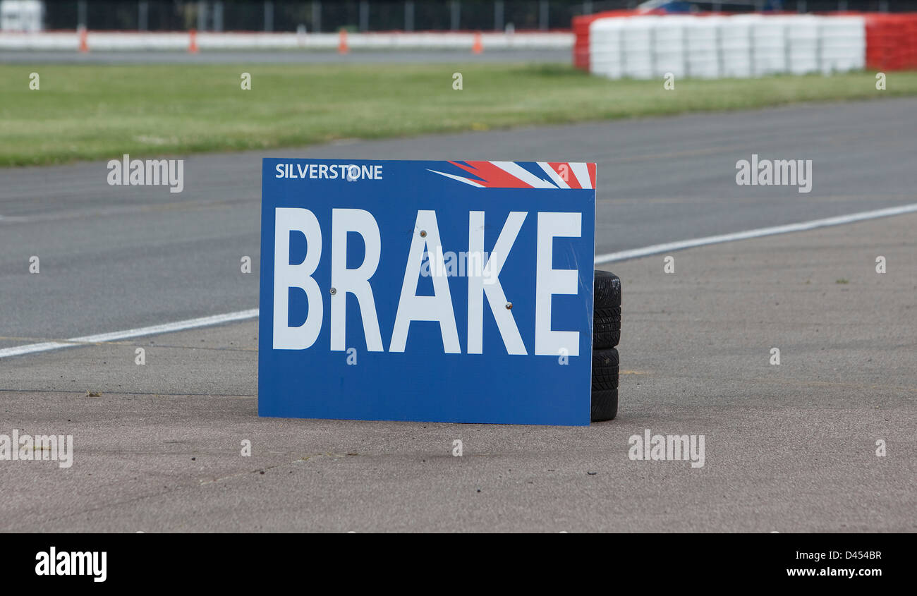 Formula One pit stop at Silverstone circuit, 09 07 2009 Stock Photo