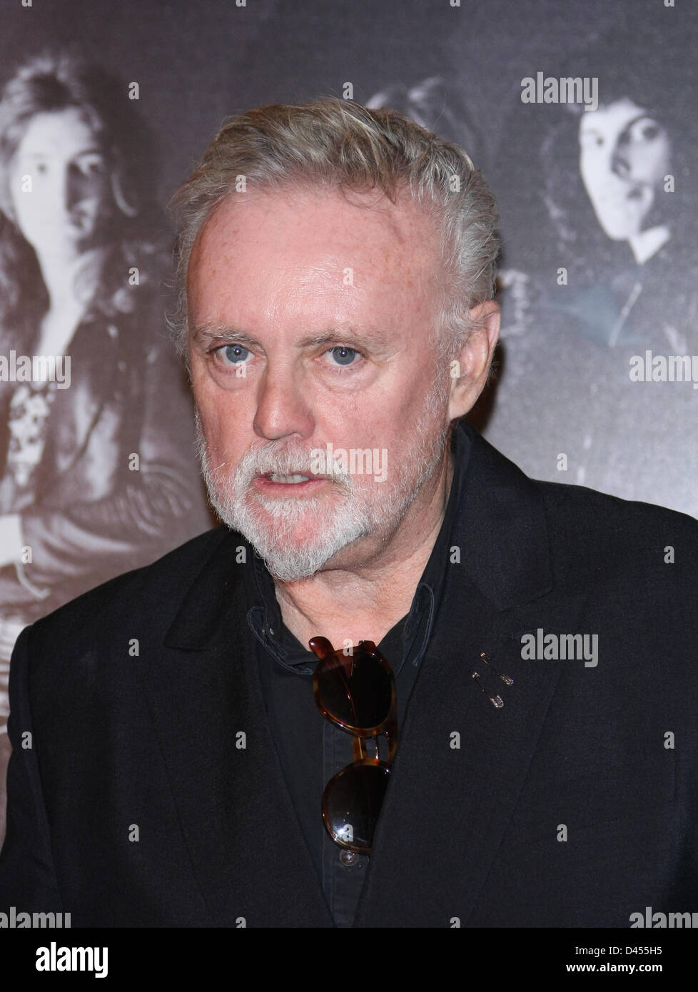 ROGER TAYLOR PRS FOR MUSIC HONOURS QUEEN WITH A HERITAGE AWARD IMPERIAL COLLEGE LONDON  UK 05 March 2013 - Stock Image