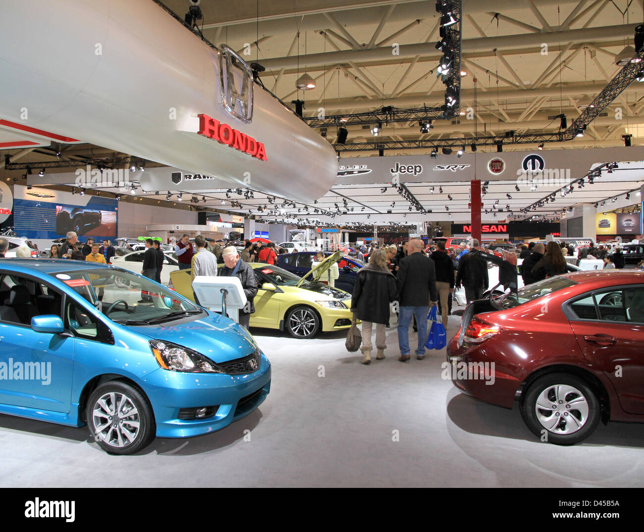 Canadian International AutoShow - Stock Image