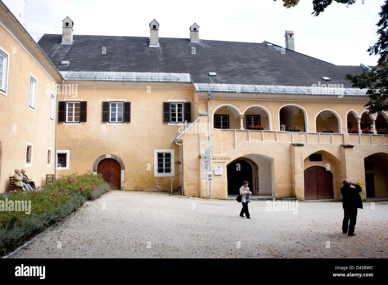 Stift Millstatt, Kaernten, Austria - Stock Image