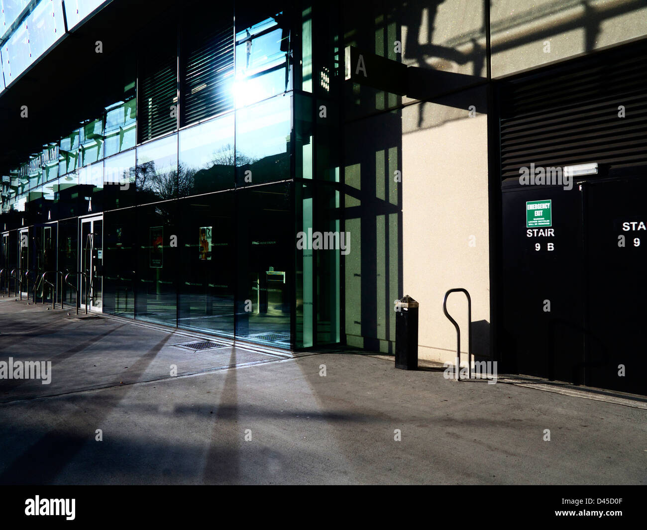 The Aviva Stadium, Lansdowne Road, Dublin, Ireland. The home of Irish Soccer and the FAI and Irish Rugby and the - Stock Image