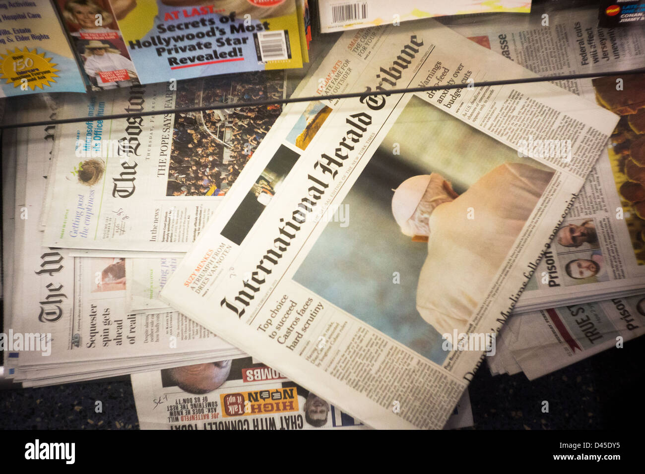 International Herald Tribune Stock Photos & International Herald Tribune Stock Images - Alamy