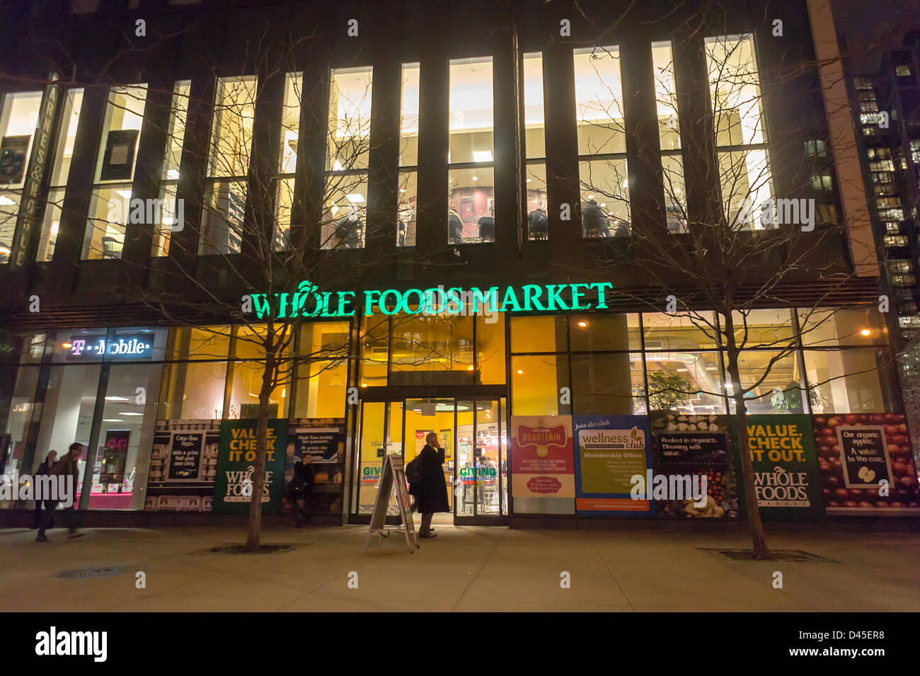 Whole Market Foods Stock