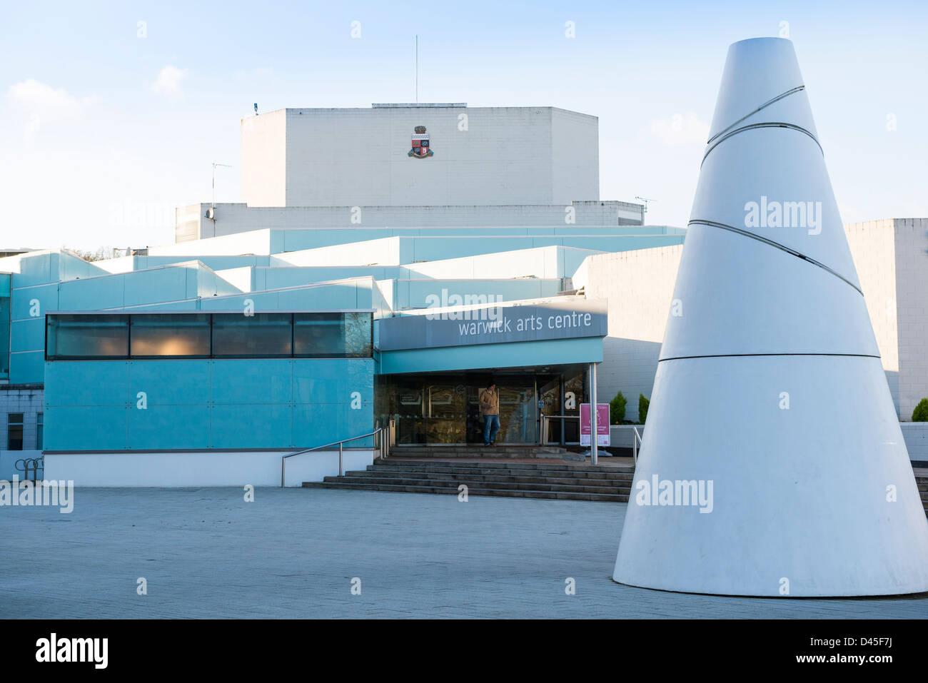 Warwick Arts Centre, at Warwick University - Stock Image