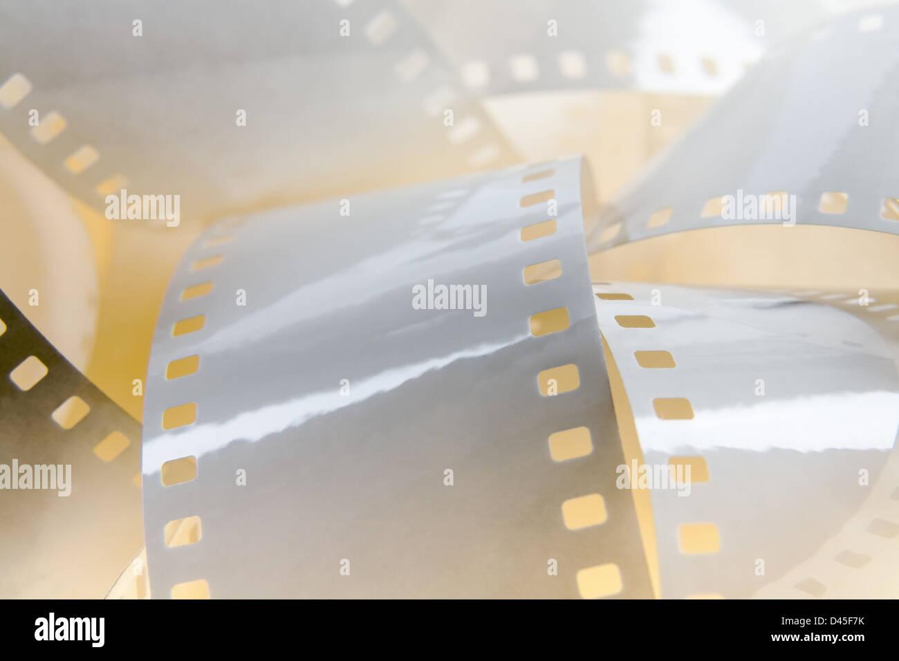 White film background - Stock Image
