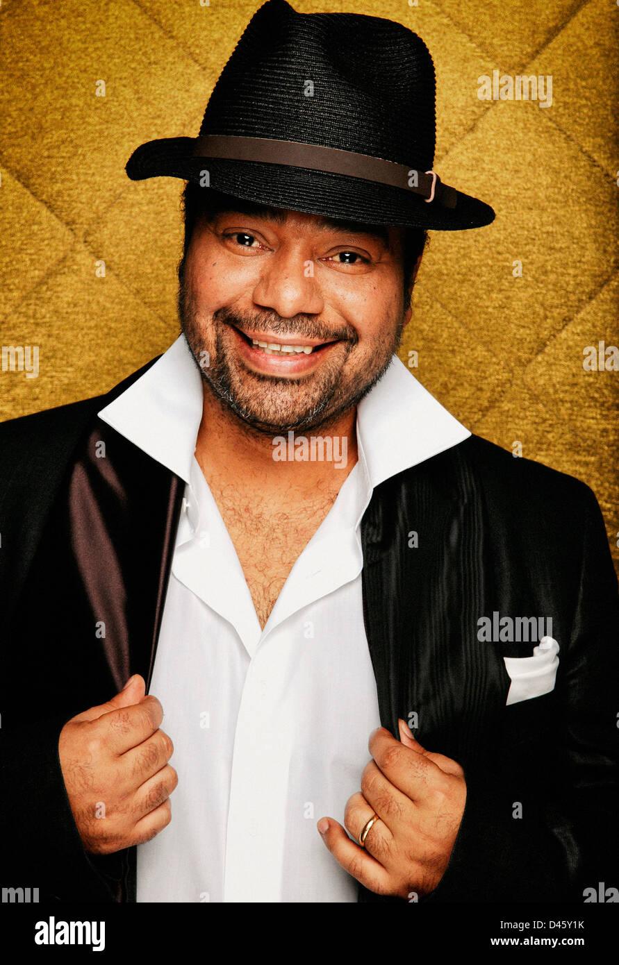paulo flores angolan celebrity singer - Stock Image