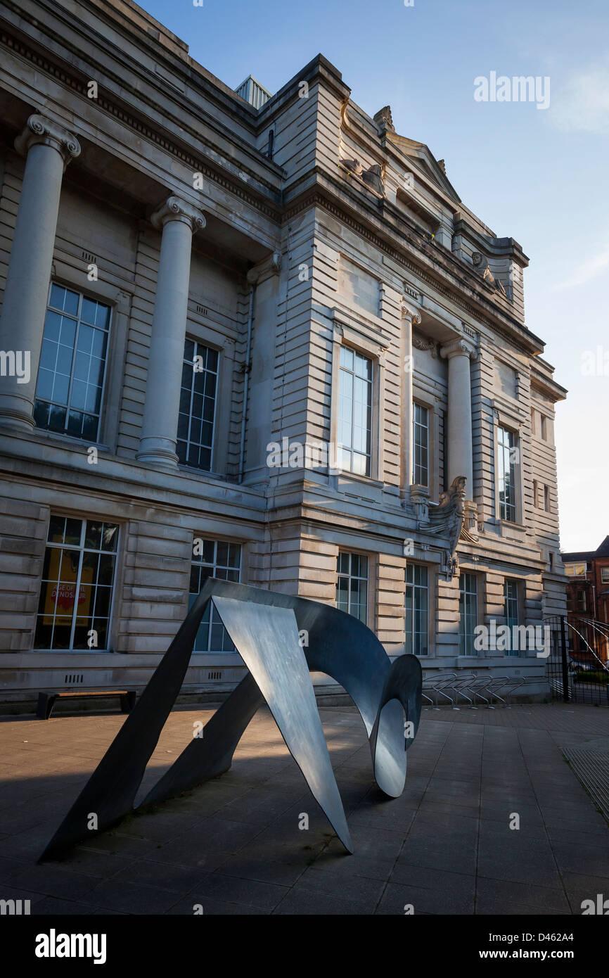 Ulster Museum, Belfast, Northern Ireland - Stock Image