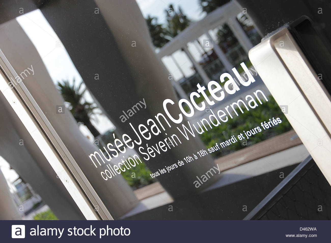 Jean Cocteau Museum, Menton, Alpes-Maritimes, PACA, France, Europe - Stock Image
