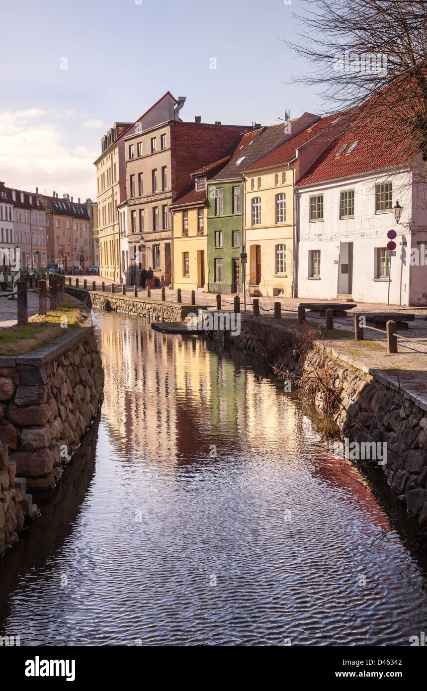 Grube, Wismar, Mecklenburg Vorpommern, Germany - Stock Image