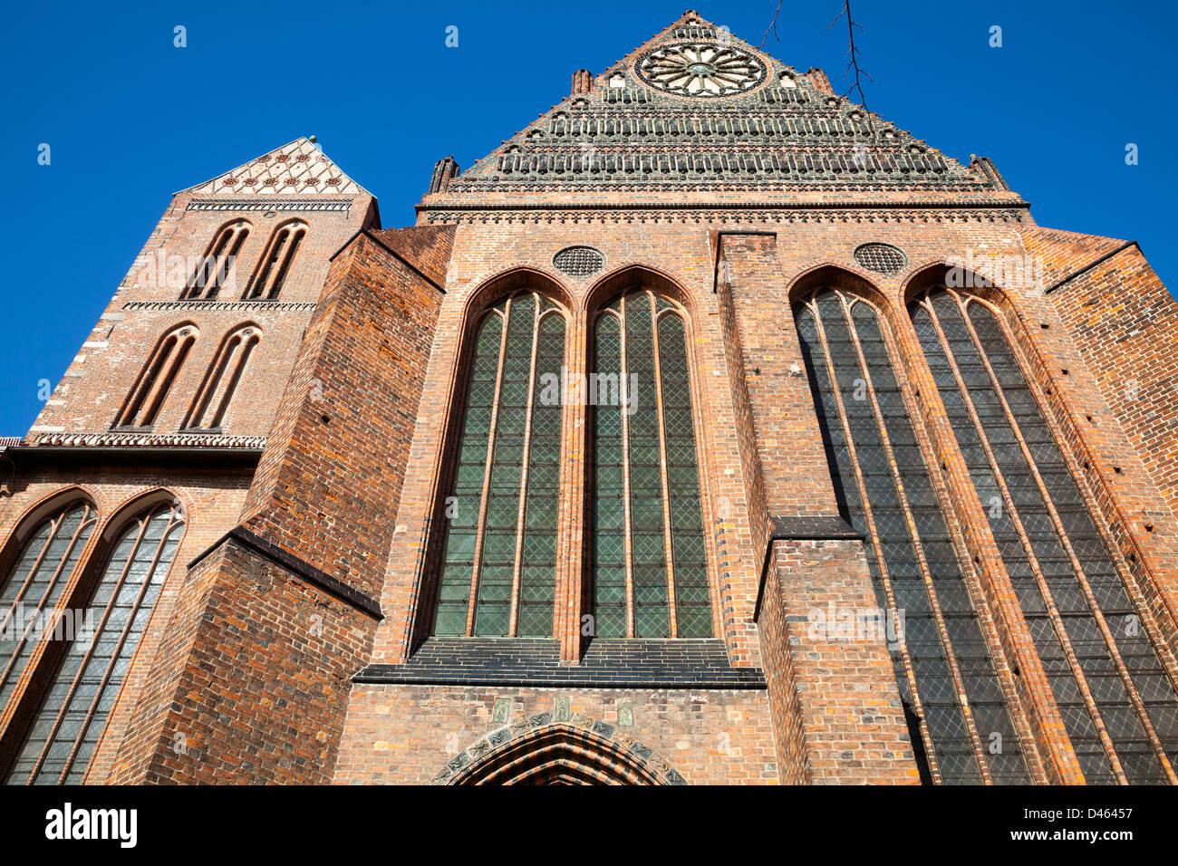 Nikolaikirche, Wismar, Mecklenburg Vorpommern, Germany - Stock Image