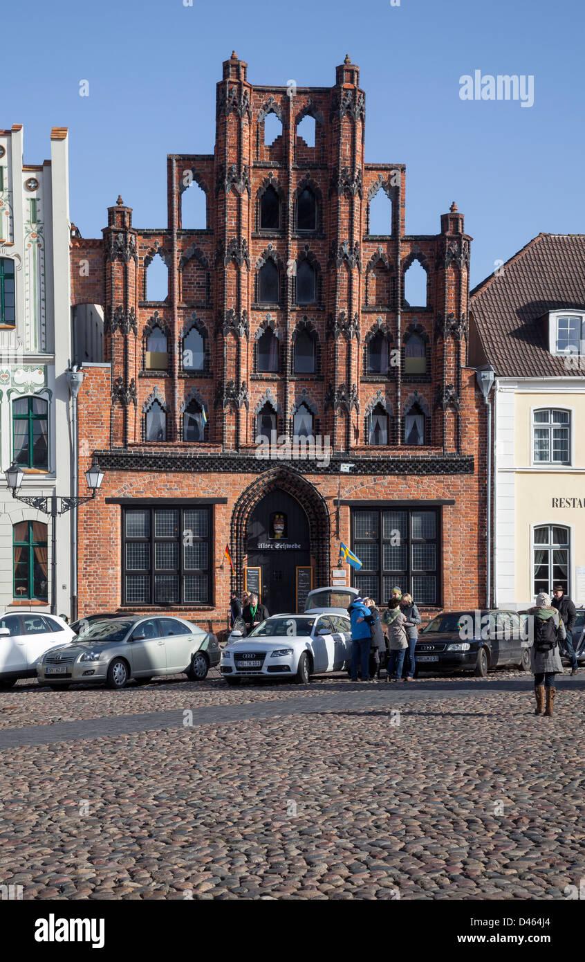 Alter Schwede, Wismar, Mecklenburg Vorpommern, Germany - Stock Image
