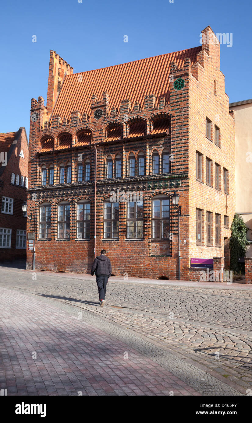 Archidiakonat, Wismar, Mecklenburg Vorpommern, Germany - Stock Image