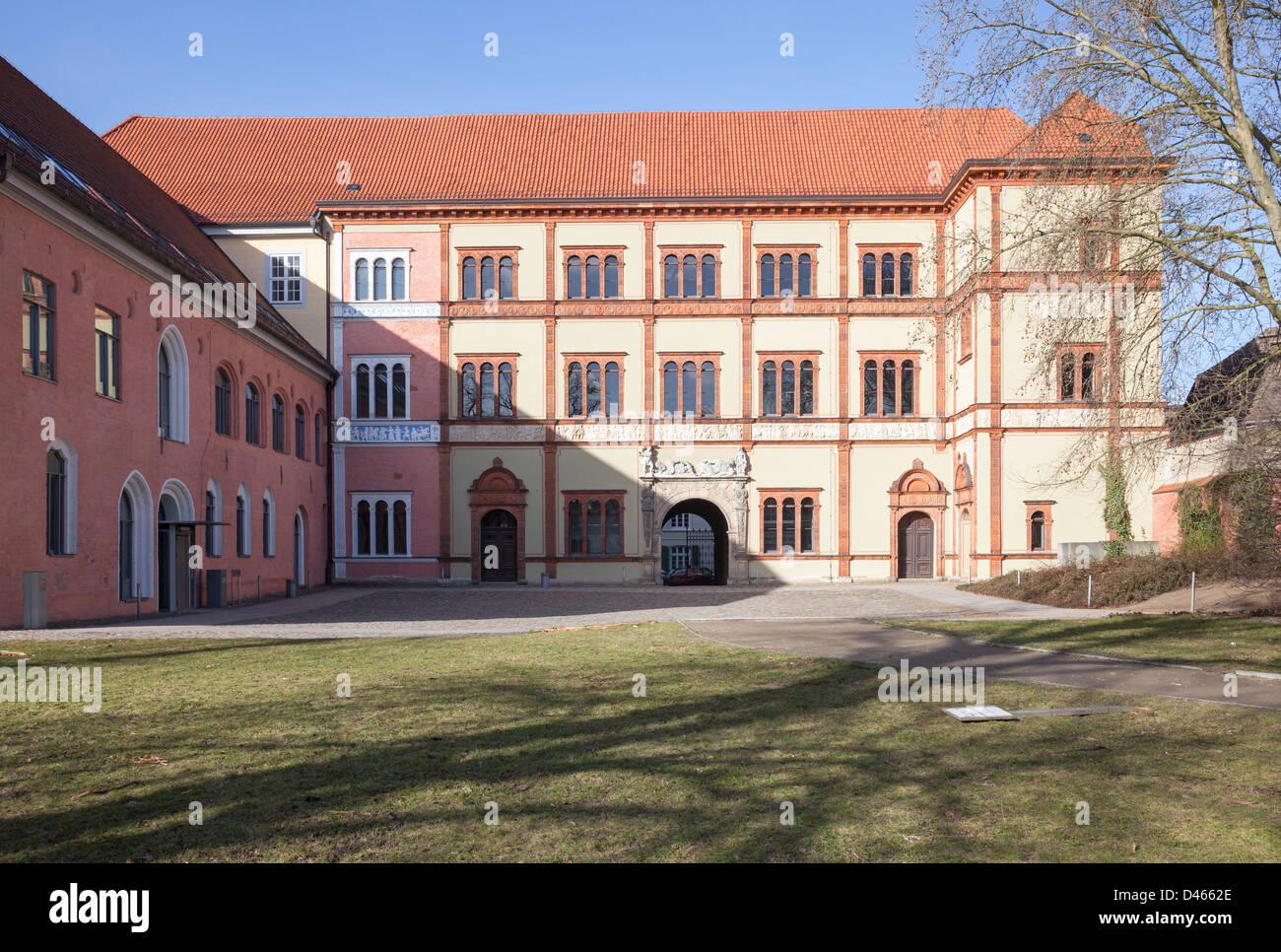 Fürstenhof, Wismar, Mecklenburg Vorpommern, Germany Stock Photo