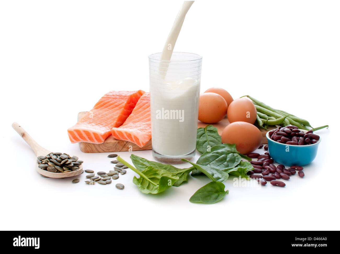Healthy protein diet - Stock Image
