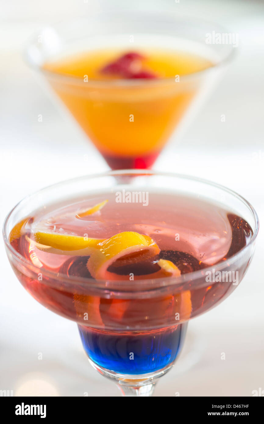 Cocktails - Stock Image