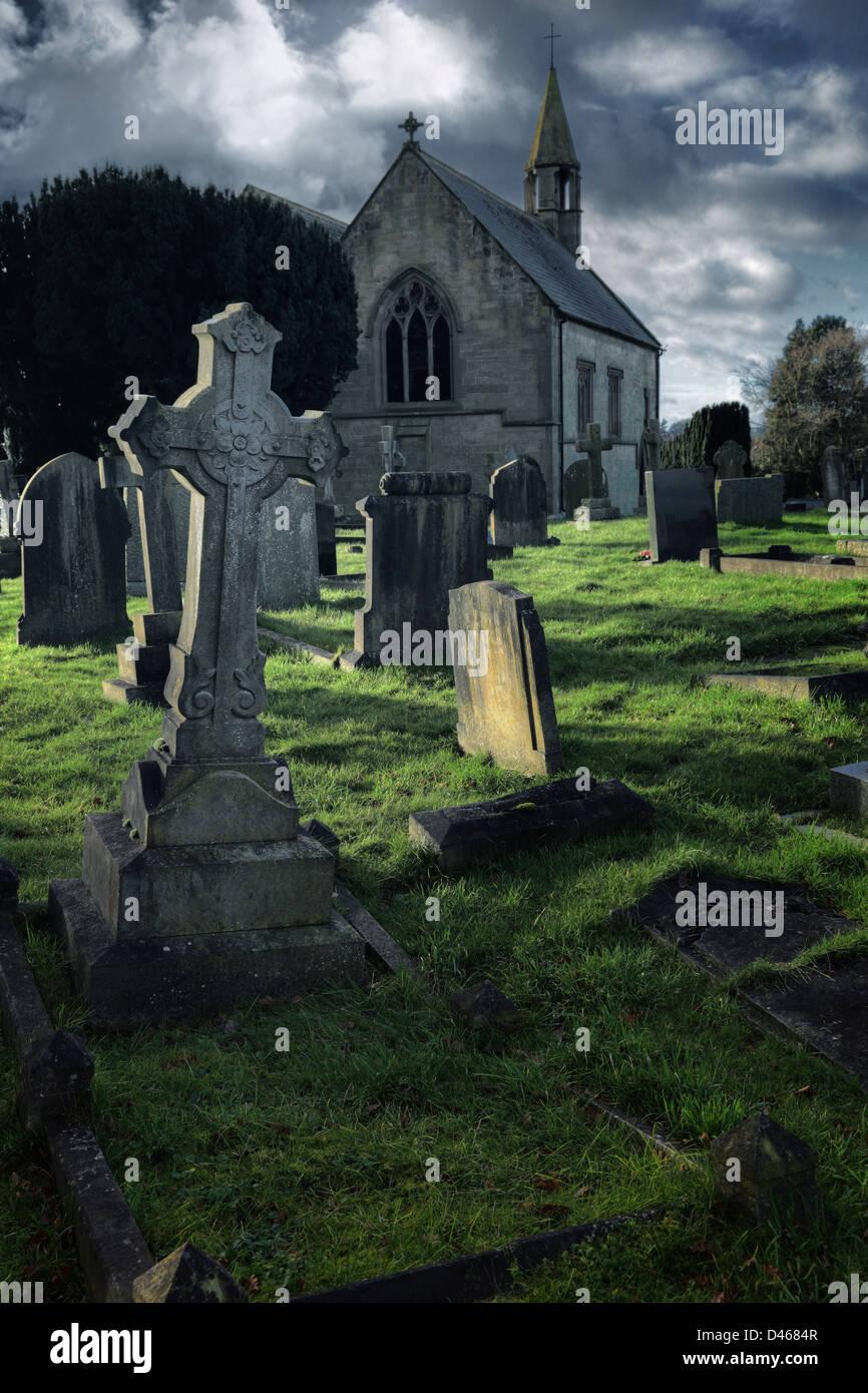 Cemetery - Stock Image