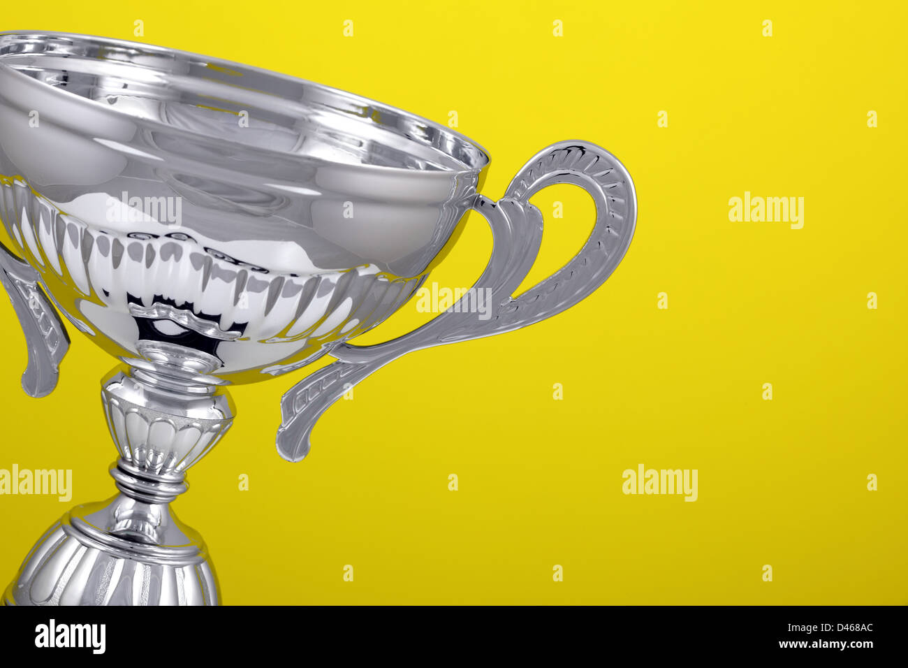 Winners trophy - Stock Image