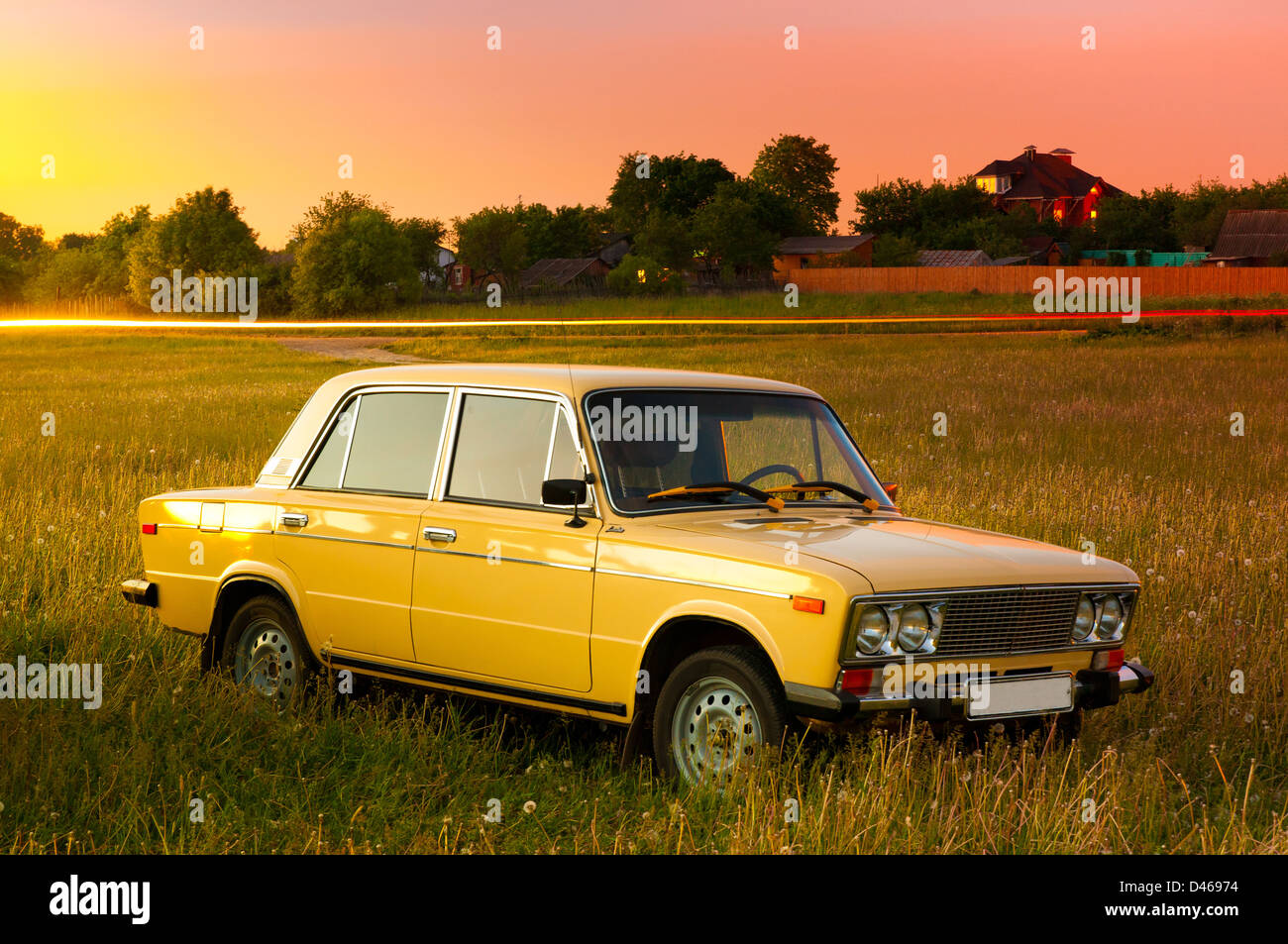 Soviet and Russian car Lada 1600 (VAZ-2106)