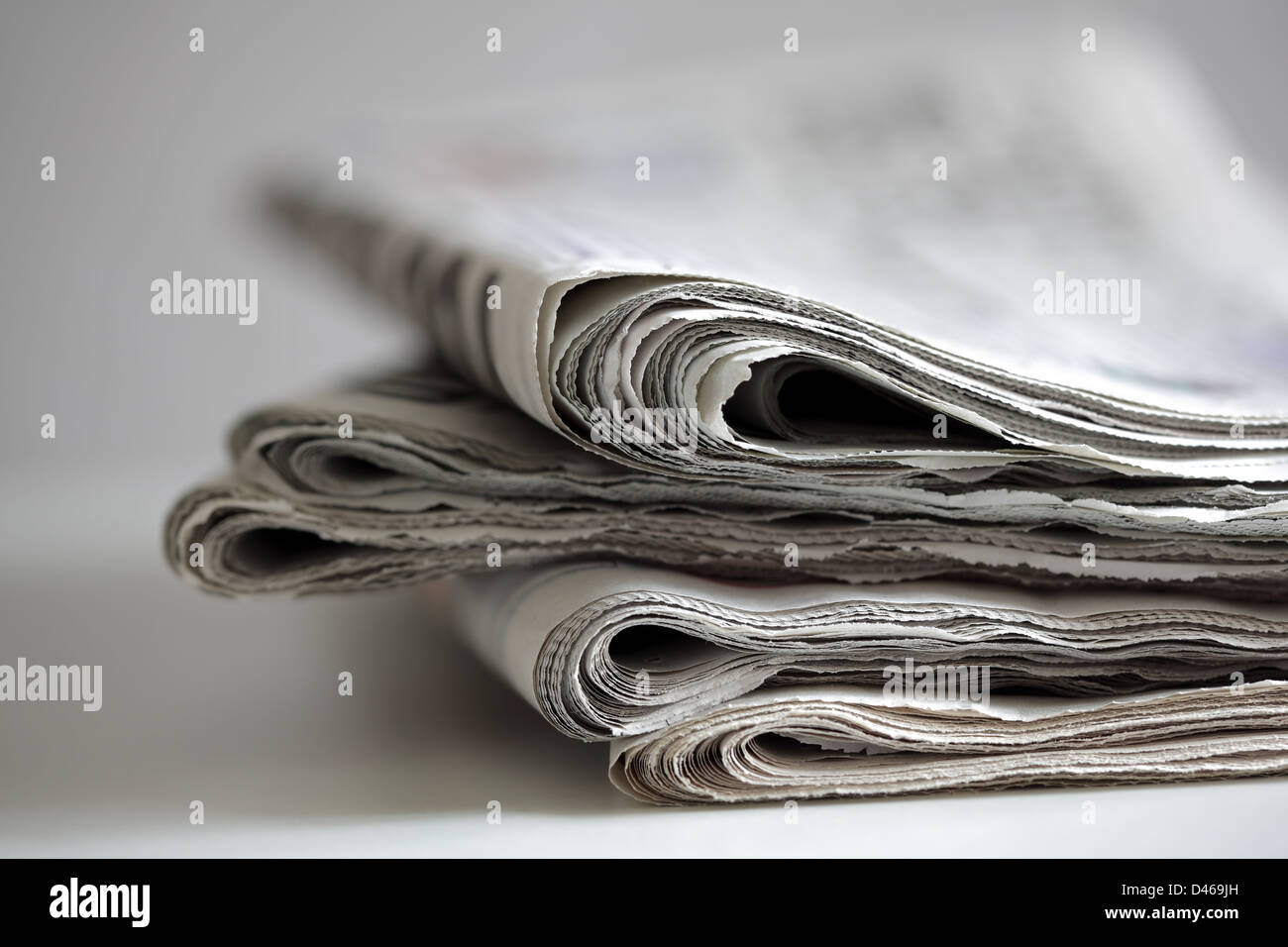 Newspaper - Stock Image