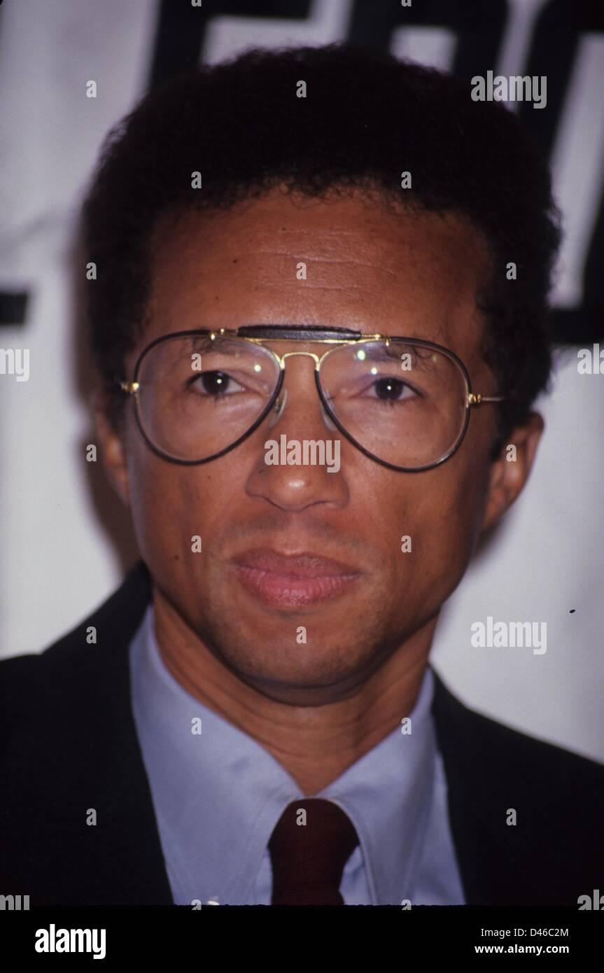 ARTHUR ASHE.The AM sports awards 1992.l4527.(Credit Image: © Stephen Trupp/Globe Photos/ZUMAPRESS.com) - Stock Image