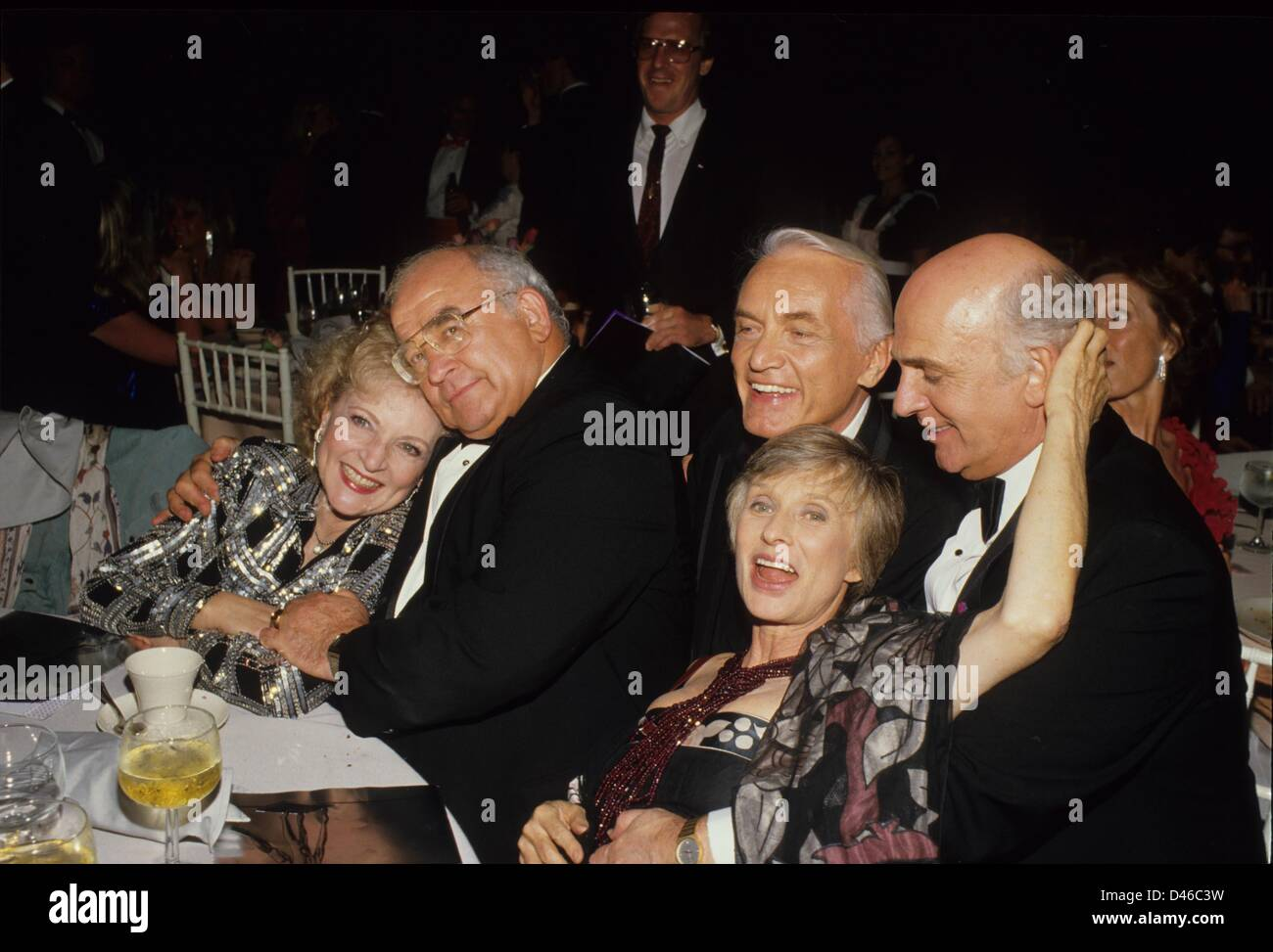 ED ASNER Betty White Ted Knight Gavin MAcLeod Cloris Leachman.Supplied by   Photos, inc.(Credit Image: © Supplied - Stock Image