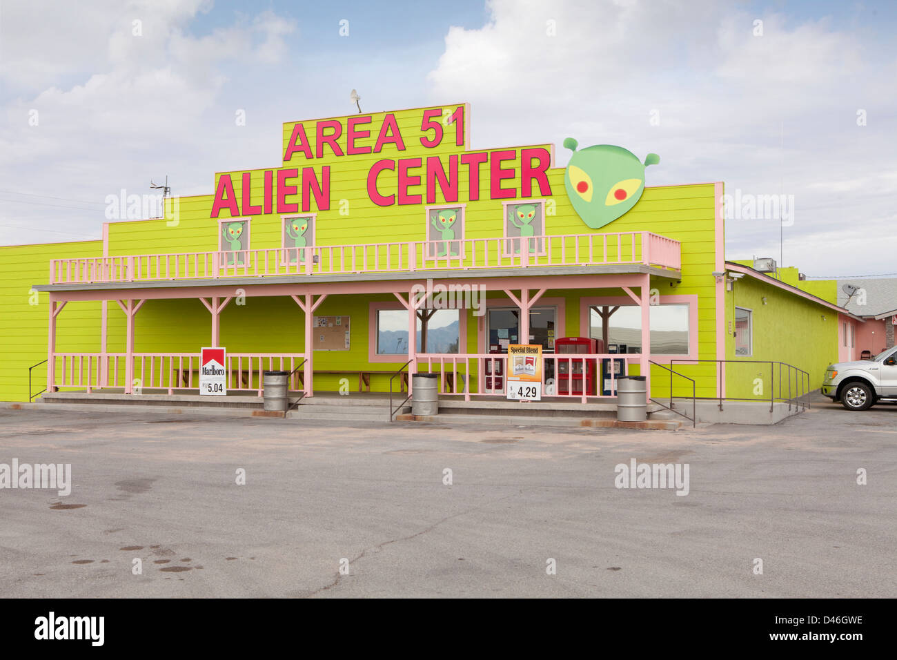 Area 51 alien center in nevada usa stock photo 54234698 for Area 51 progetti