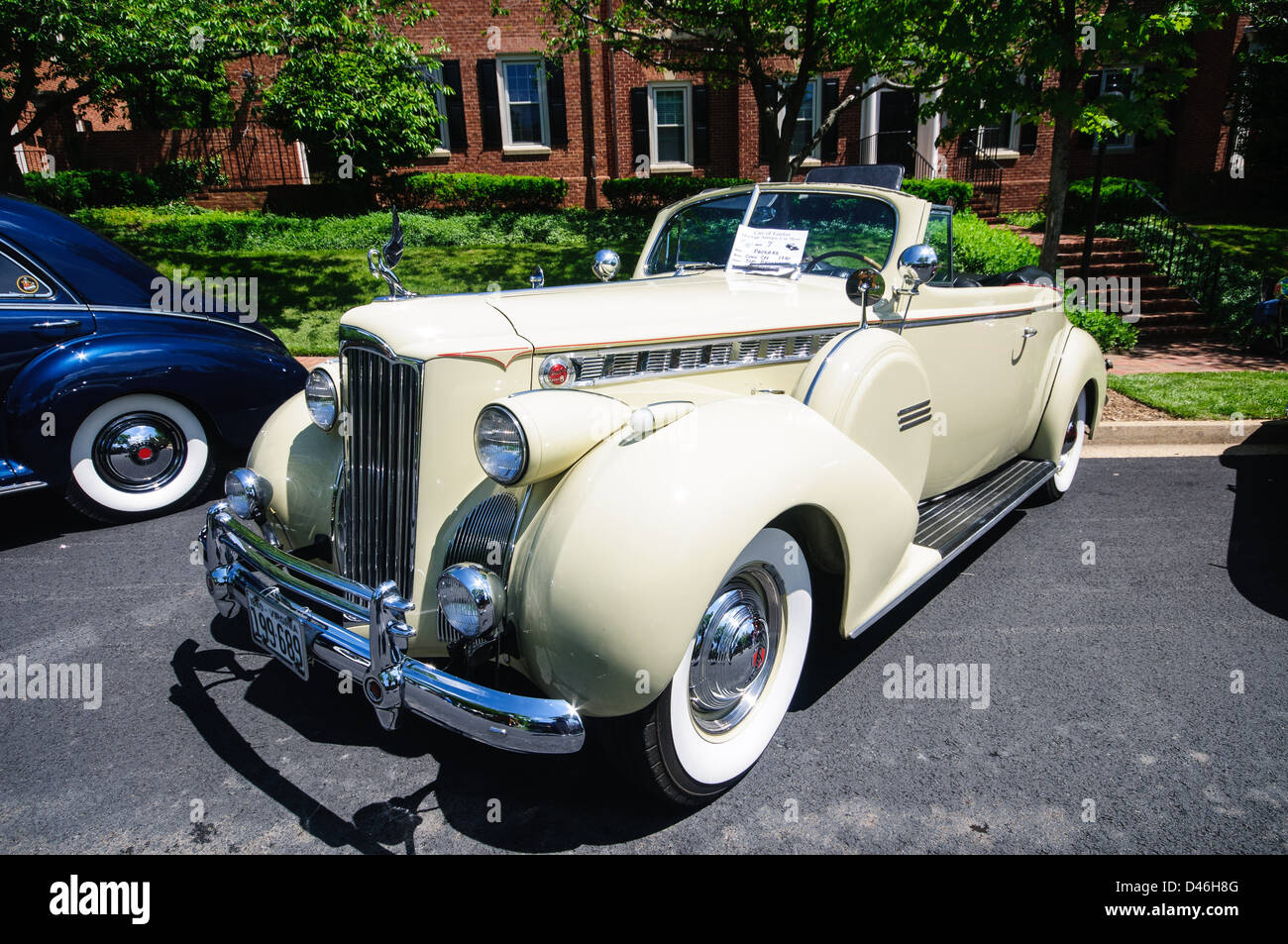 Packard Antique Car Show Armstrong Street Old Town Fairfax - Old town car show