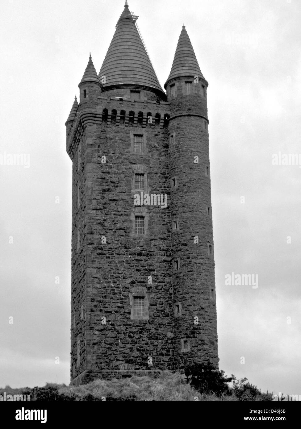 Scrabo Tower, Newtownards, Co Down, Northern Ireland. - Stock Image