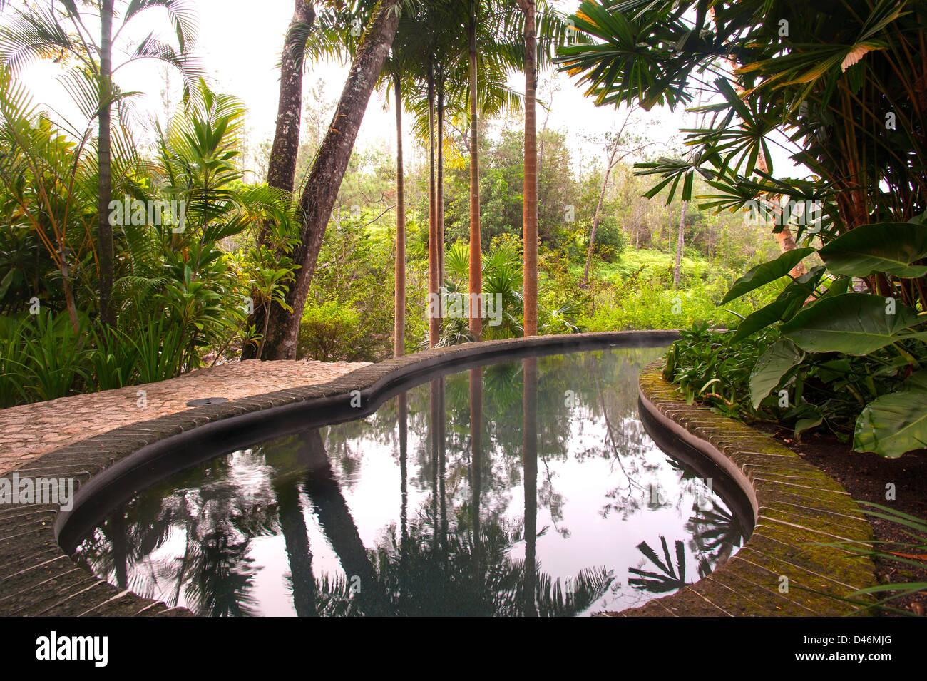 Blancaneaux Lodge, Belize - Stock Image