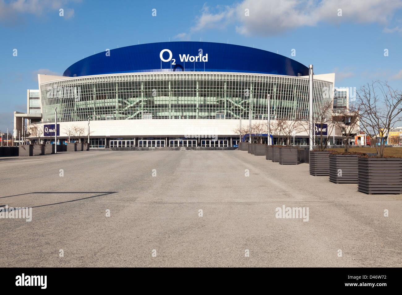 O2 World Arena, Berlin, Germany - Stock Image