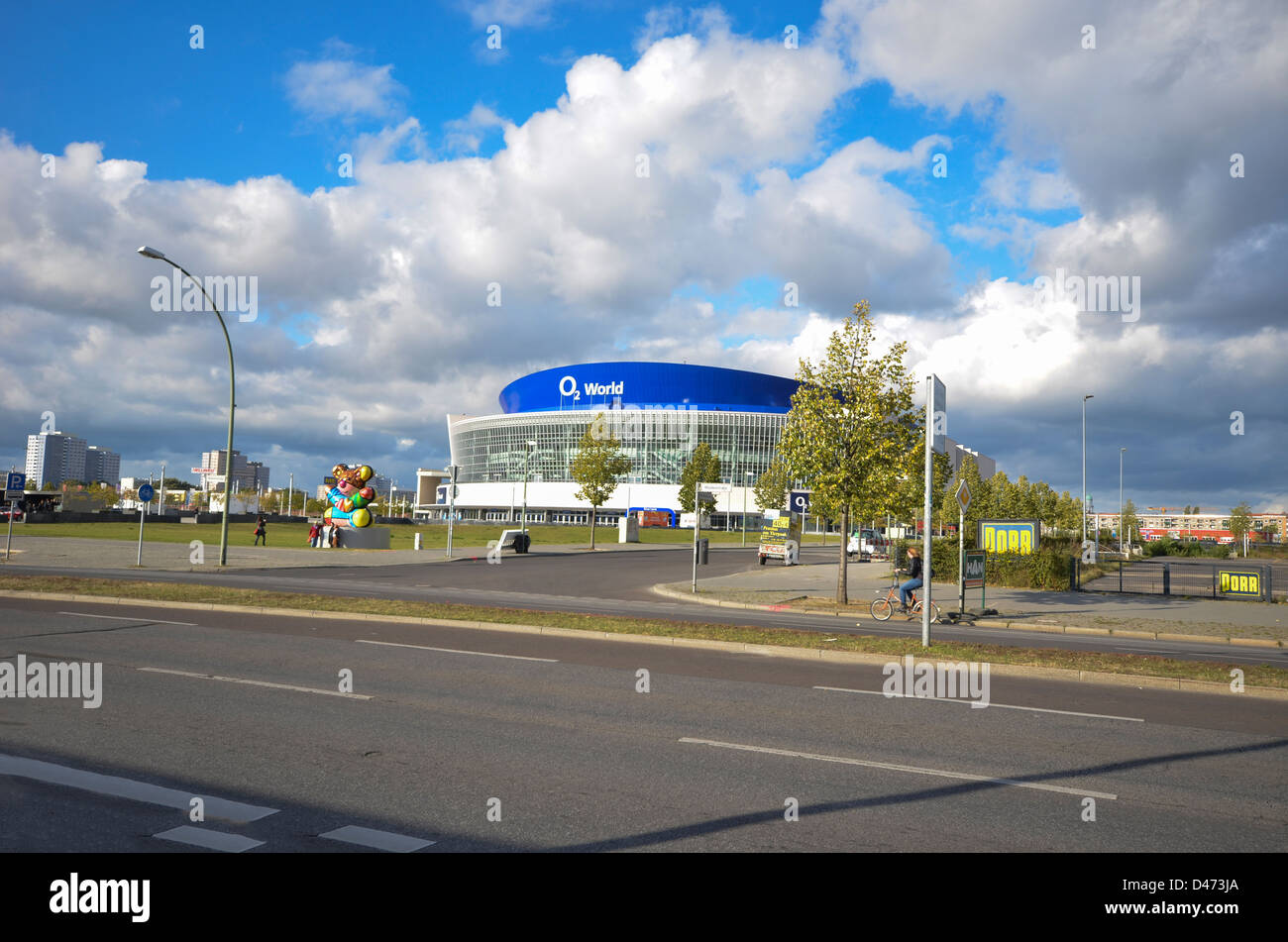 The O2 World Arena, Berlin, Germany - Stock Image