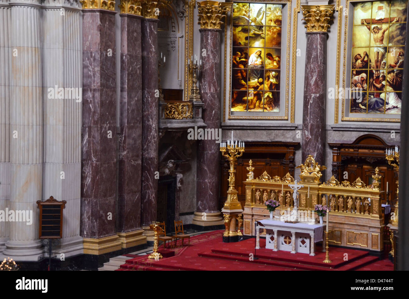 Berlin cathedral (Berliner Dom), Germany - Stock Image