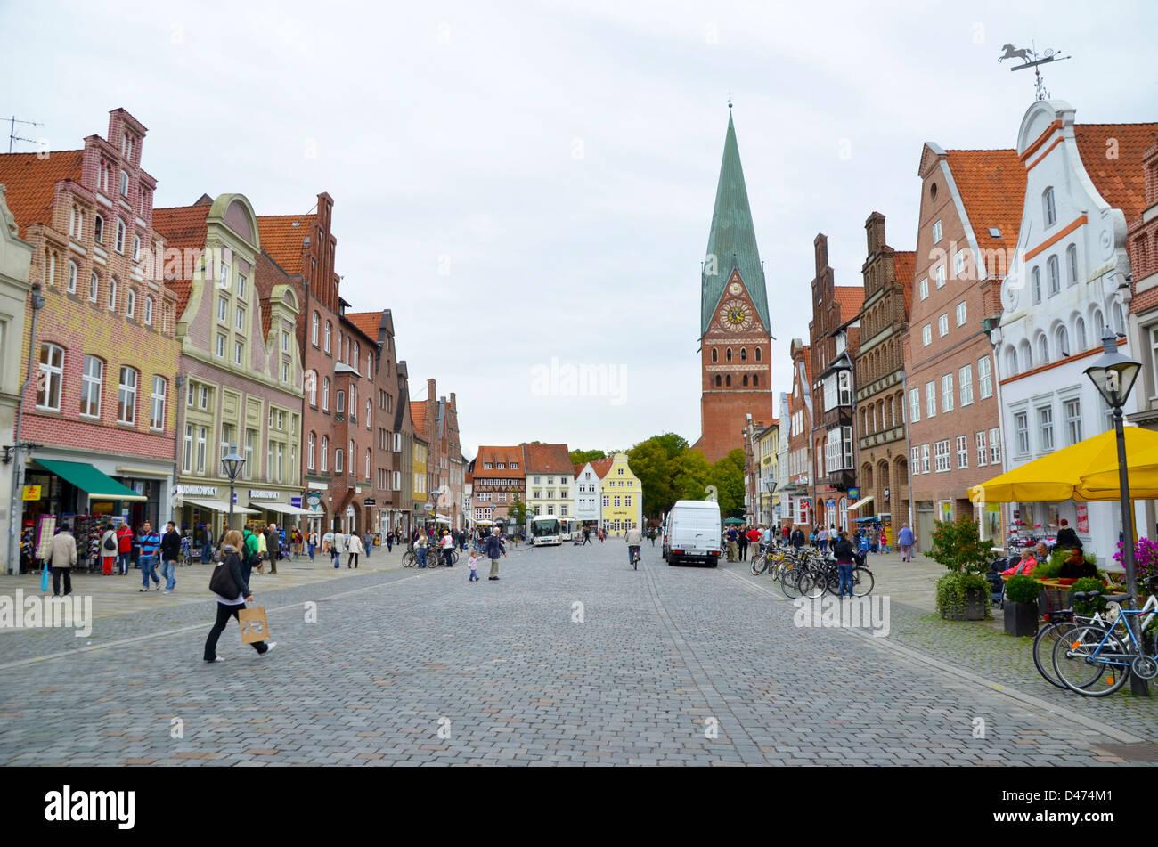 Germany, Lower Saxony, Stade - Stock Image