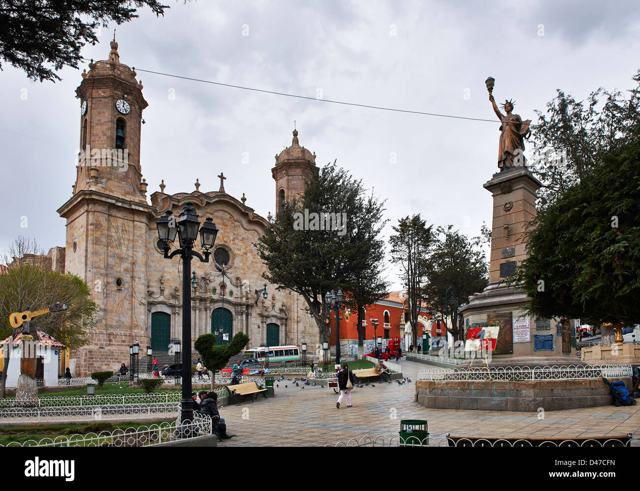 la Catedral, Potosi, Bolivia, South America - Stock Image