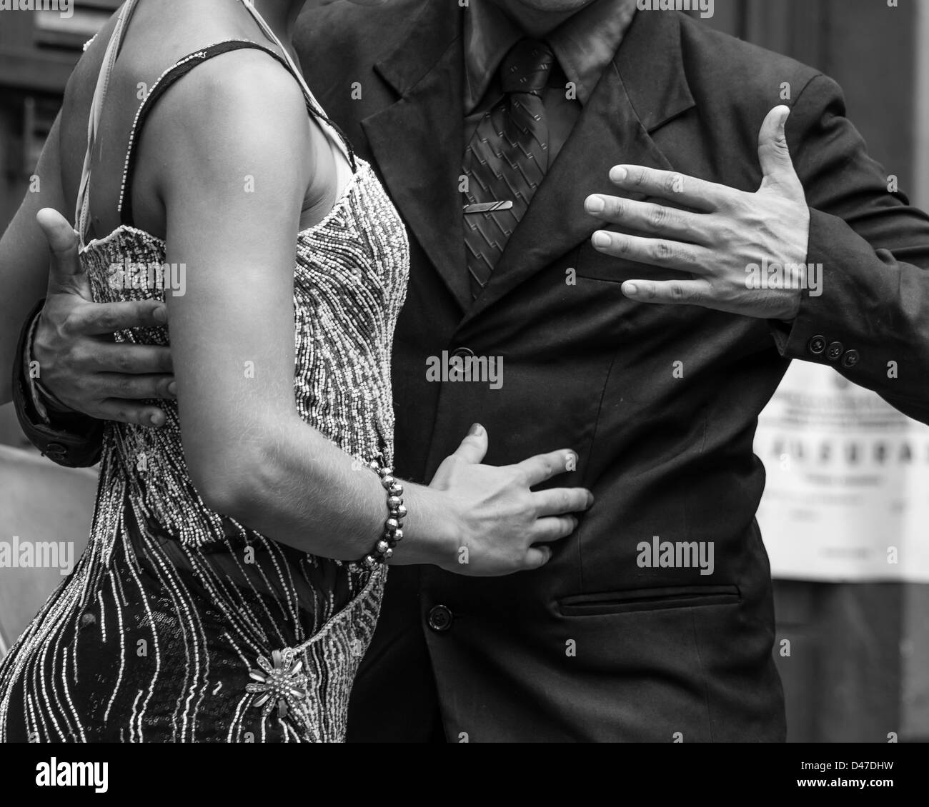 Argentina Tango Black And White Stock Photos Images Alamy Dance Step Diagram Multiple Dancers Argentinian In Image