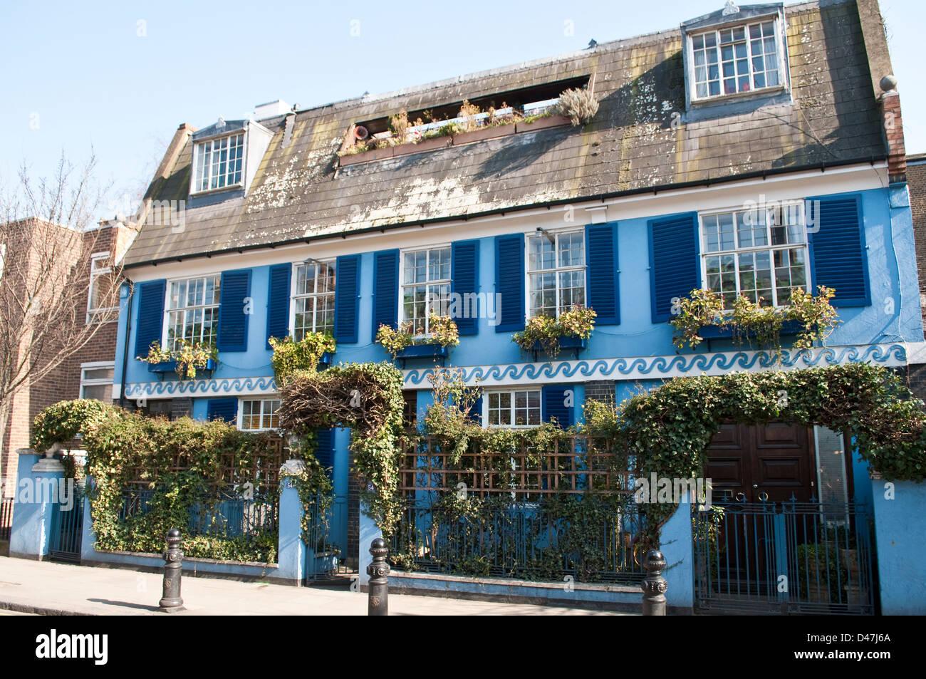 House, Pembridge Road, Notting Hill, London, W11, UK - Stock Image