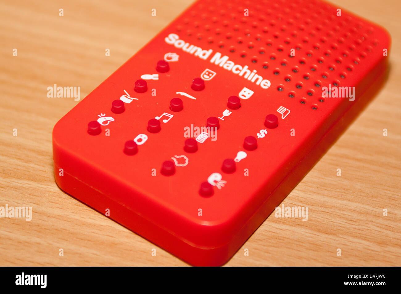 Toy electric sound effects machine Stock Photo: 54258216 - Alamy