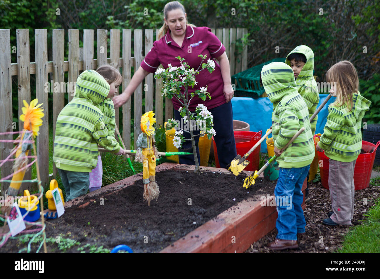 children   nursery school garden university hospital