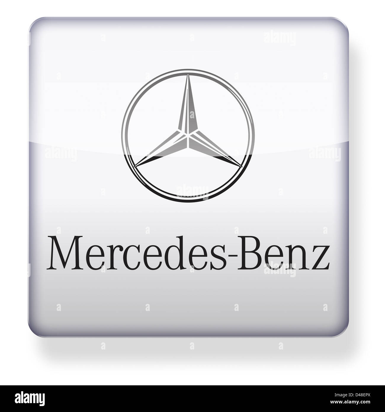 Mercedes Logo Cut Out Stock Images Pictures Alamy