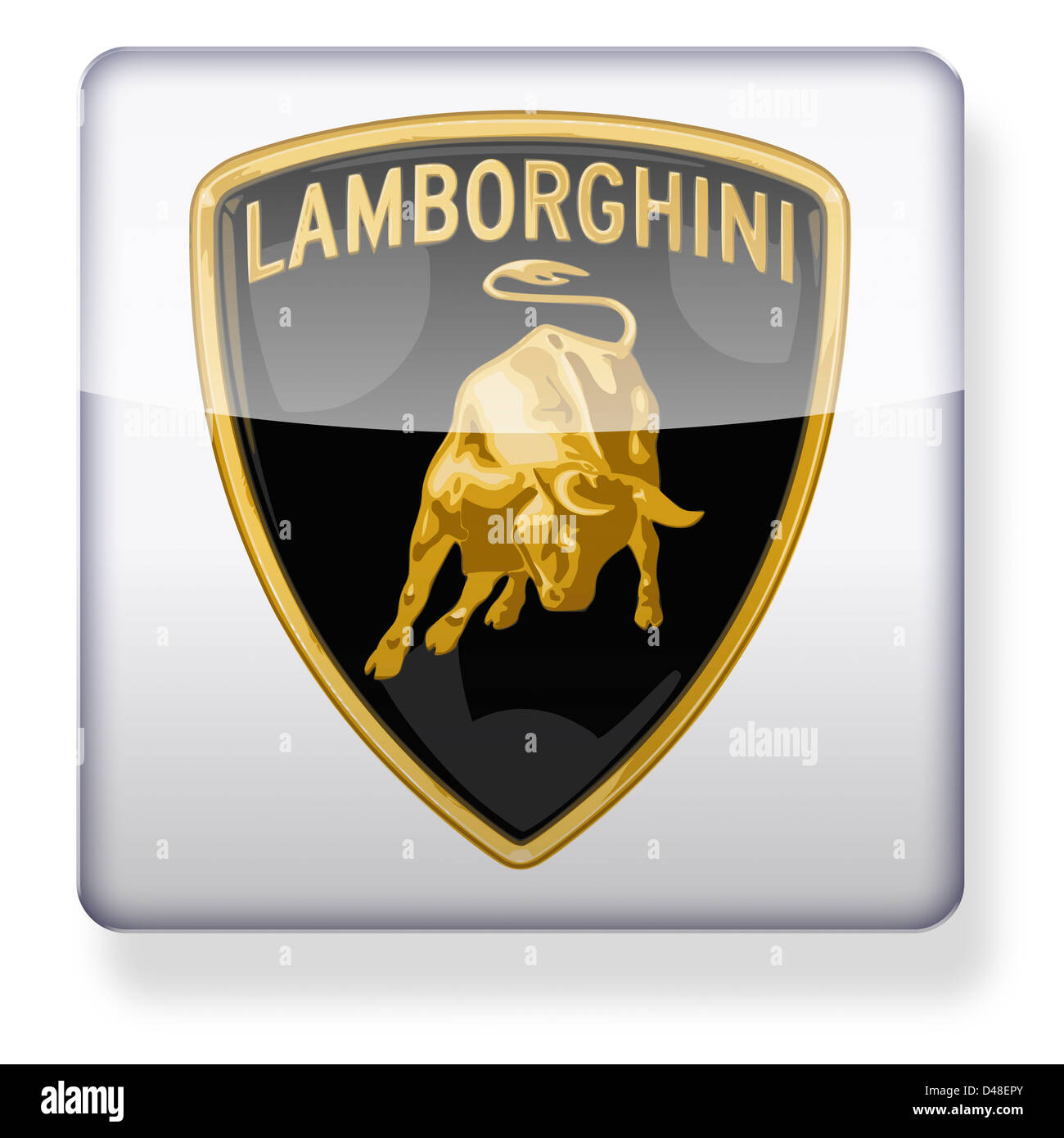 Lamborghini Cut Out Stock Images Pictures Alamy