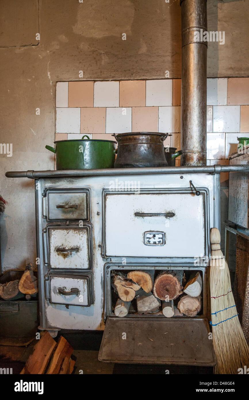 woodstove - Stock Image