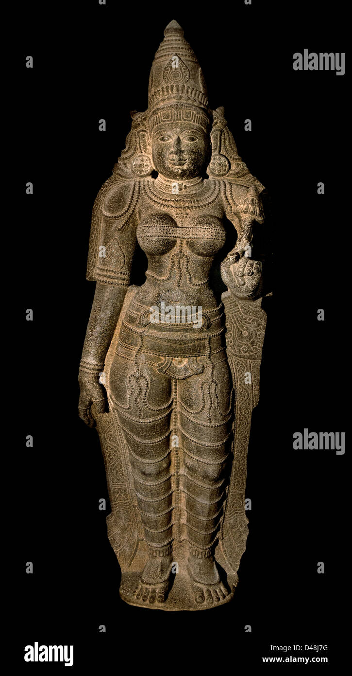 Sridevi 12th Century India Hindu Hinduism - Stock Image