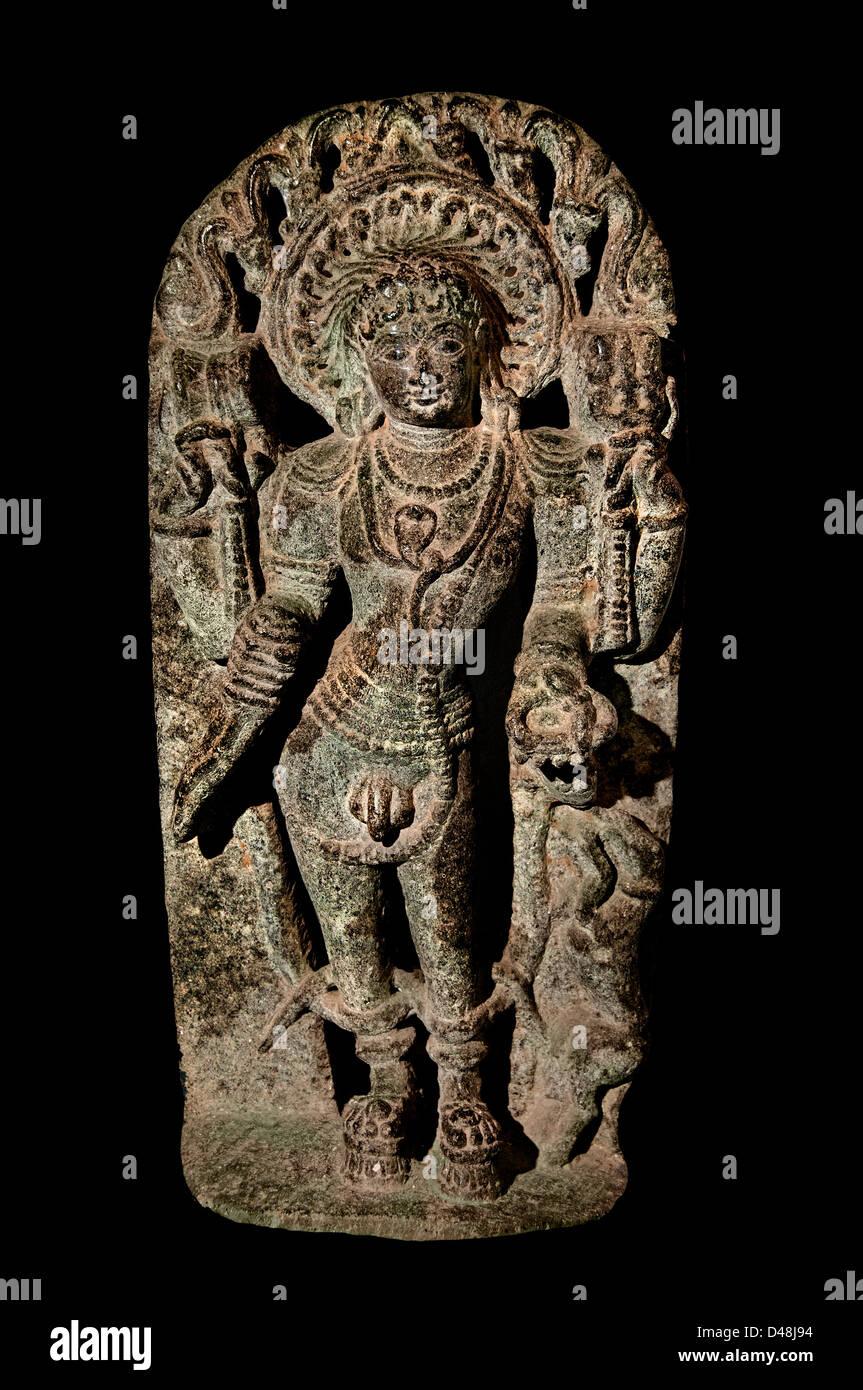 Bhikshatanamurti Kambaduru Anantapur India Hindu - Stock Image