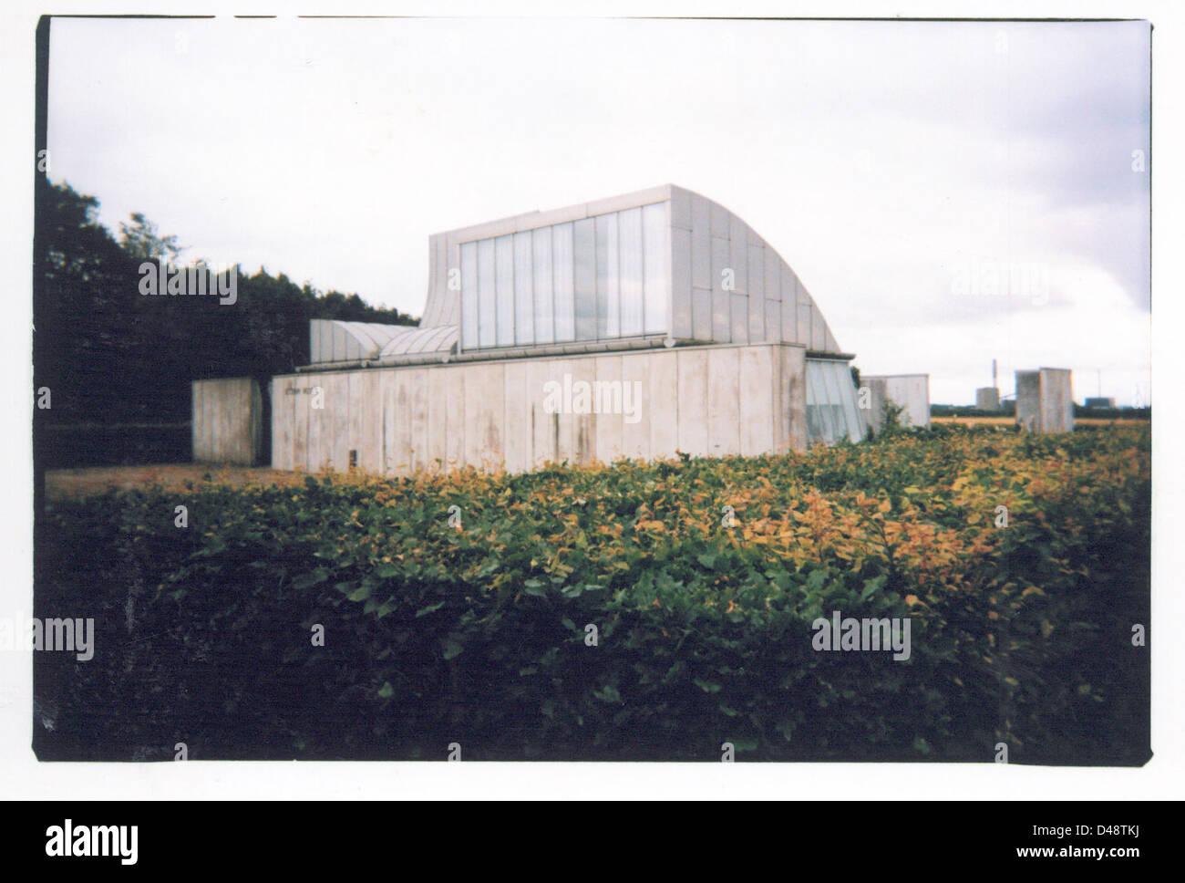 jørn utzon, school centre prototype in herning 05 (ca. 1969) Stock Photo