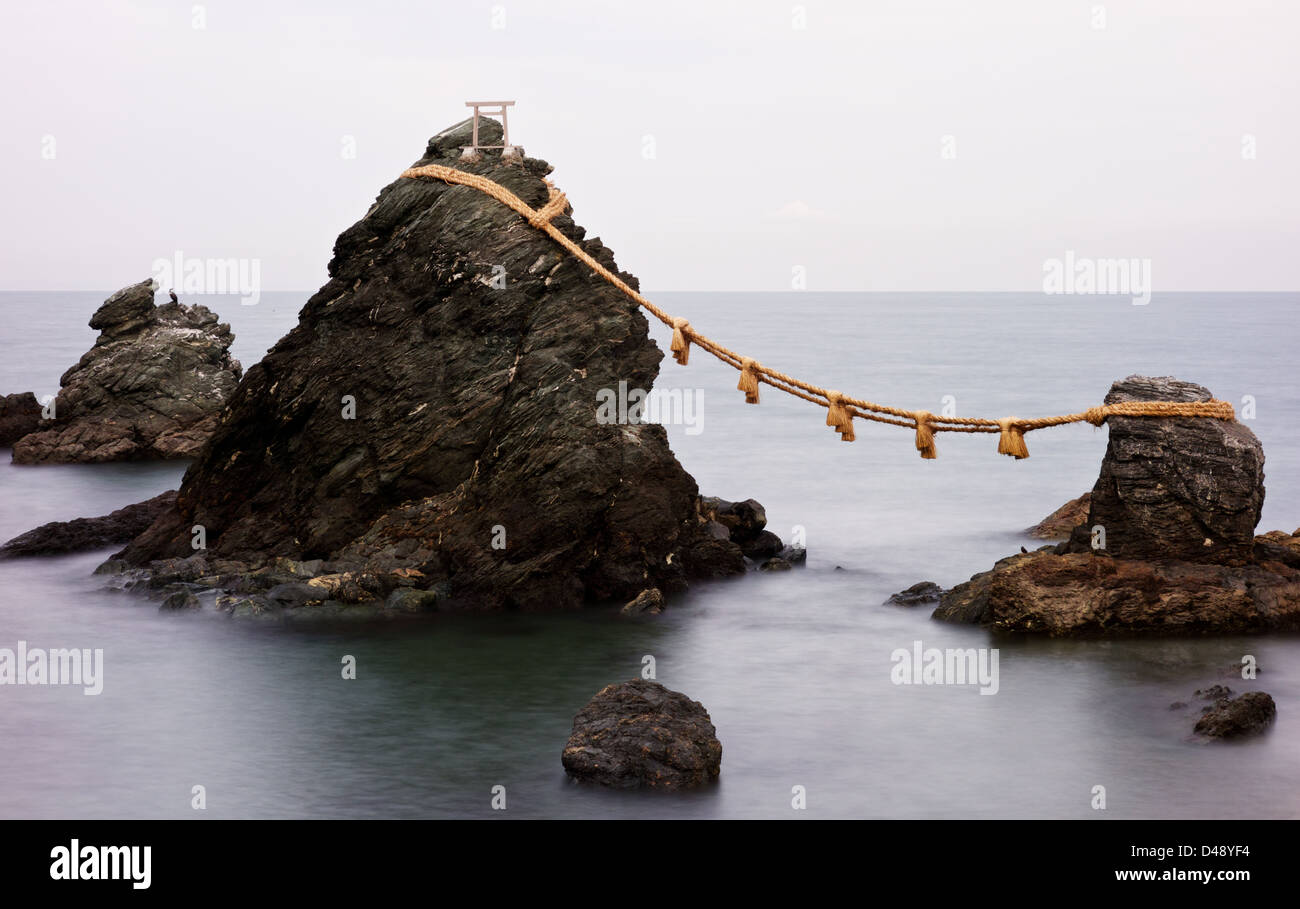 Meoto Iwa - Stock Image